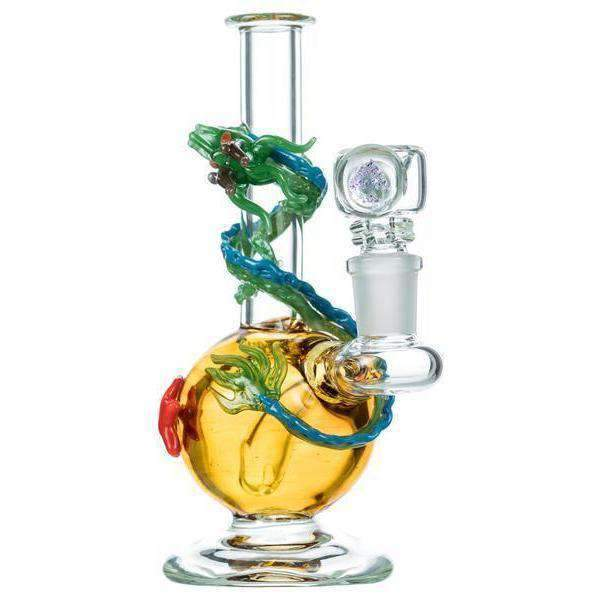 Empire Glassworks Twisted Dragon Bong | The710Source.com