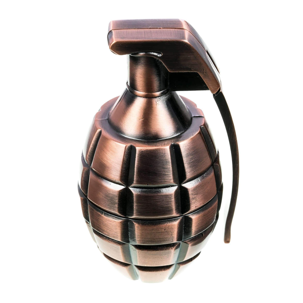 Grenade Themed Dry Herb Grinder - Copper | The710Source.com