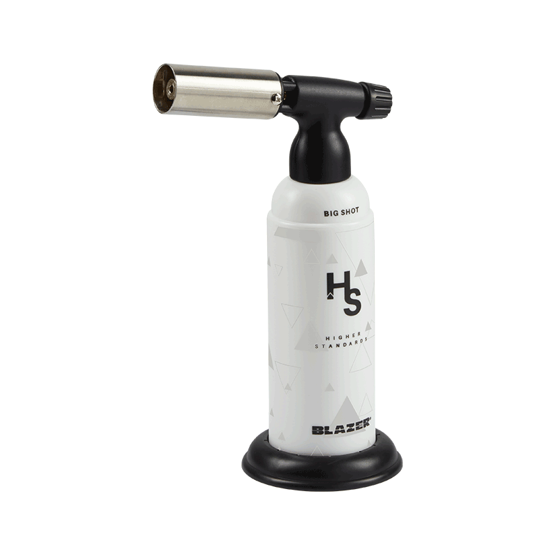 Higher Standards Blazer Butane Dab Torch - White | The710Source.com