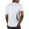 Higher Standards Circle Logo T-Shirt Model Back - White | The710Source.com