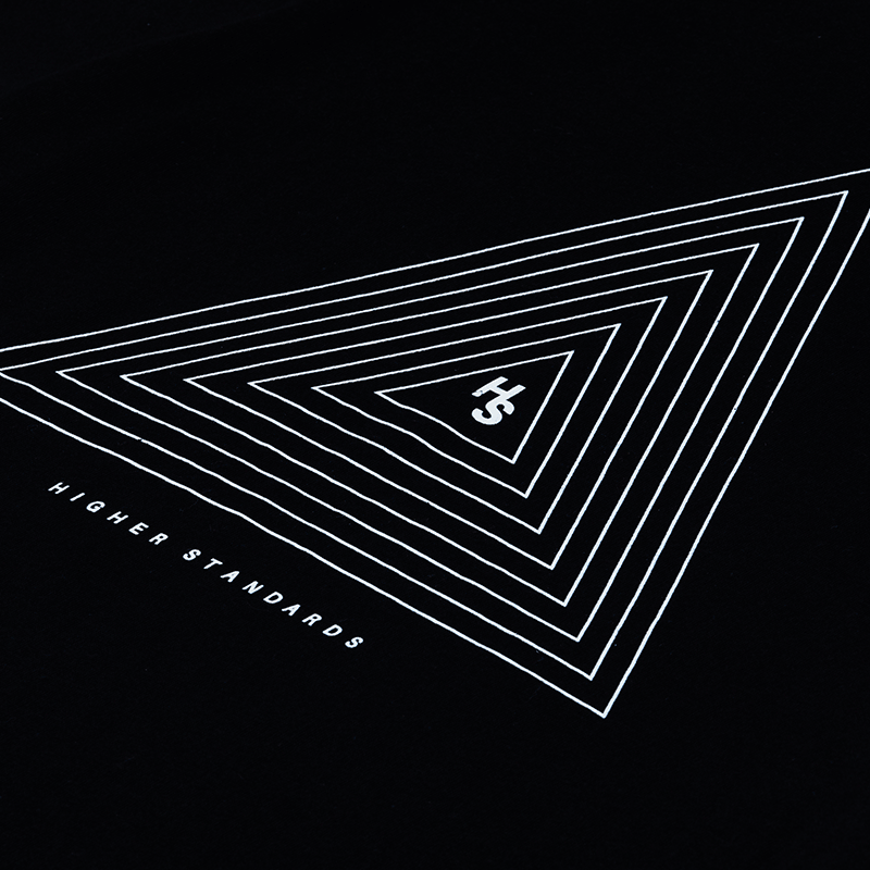 Higher Standards T-Shirt Concentric Triangle Logo | The710Source.com