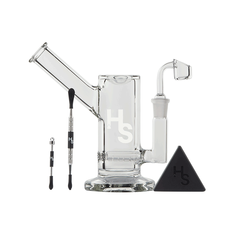 Higher Standards Heavy Duty Glass Dab Rig | The710Source.com