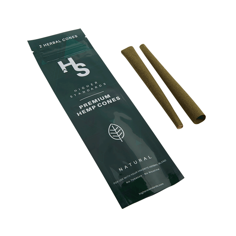 Higher Standards Premium Hemp Cone Joints | The710Source.com