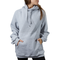 Higher Standards Triangle Hoodie Woman Model Front - Grey | The710Source.com