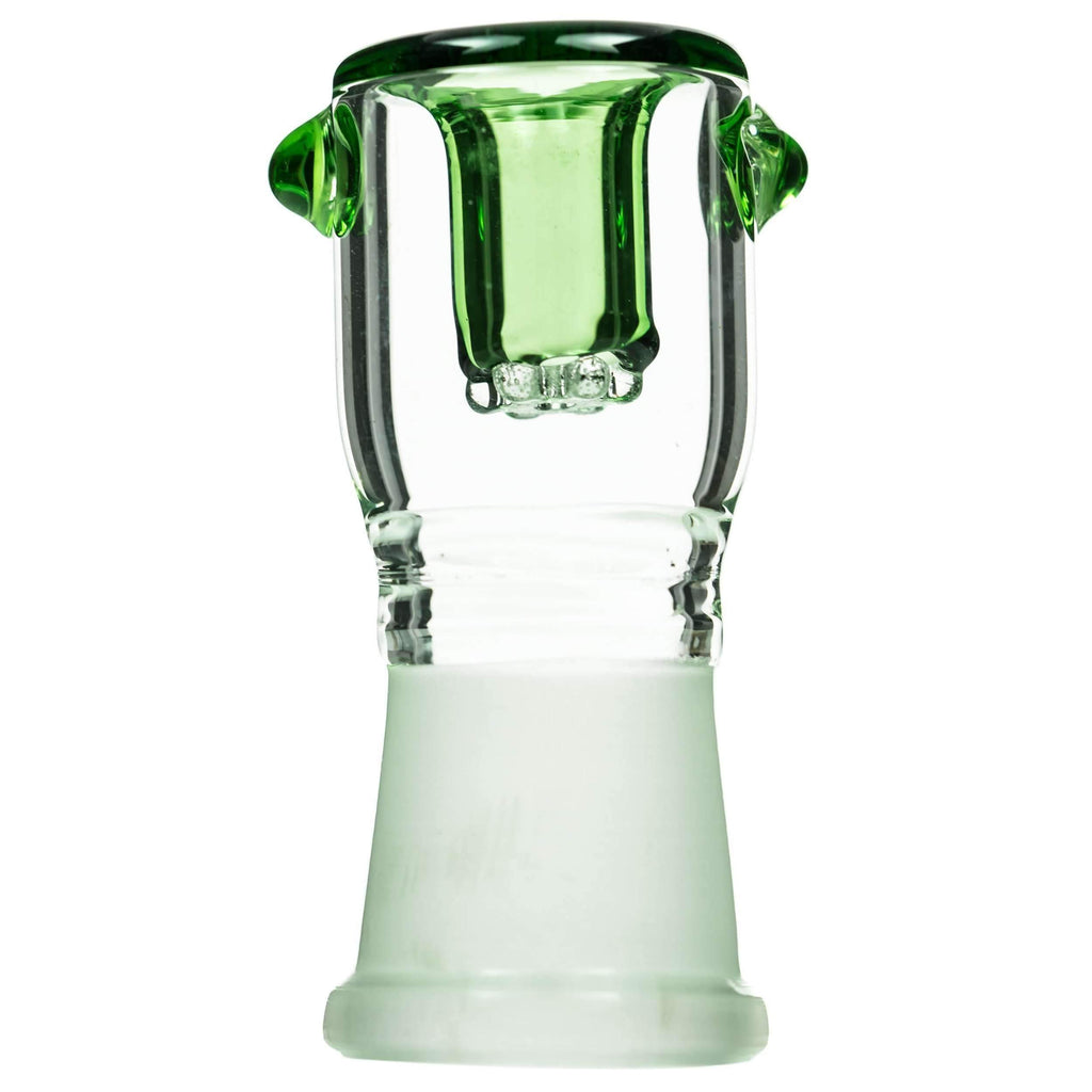 Glass Bong Replacement Female Joint Bowl - Green | The710Source.com