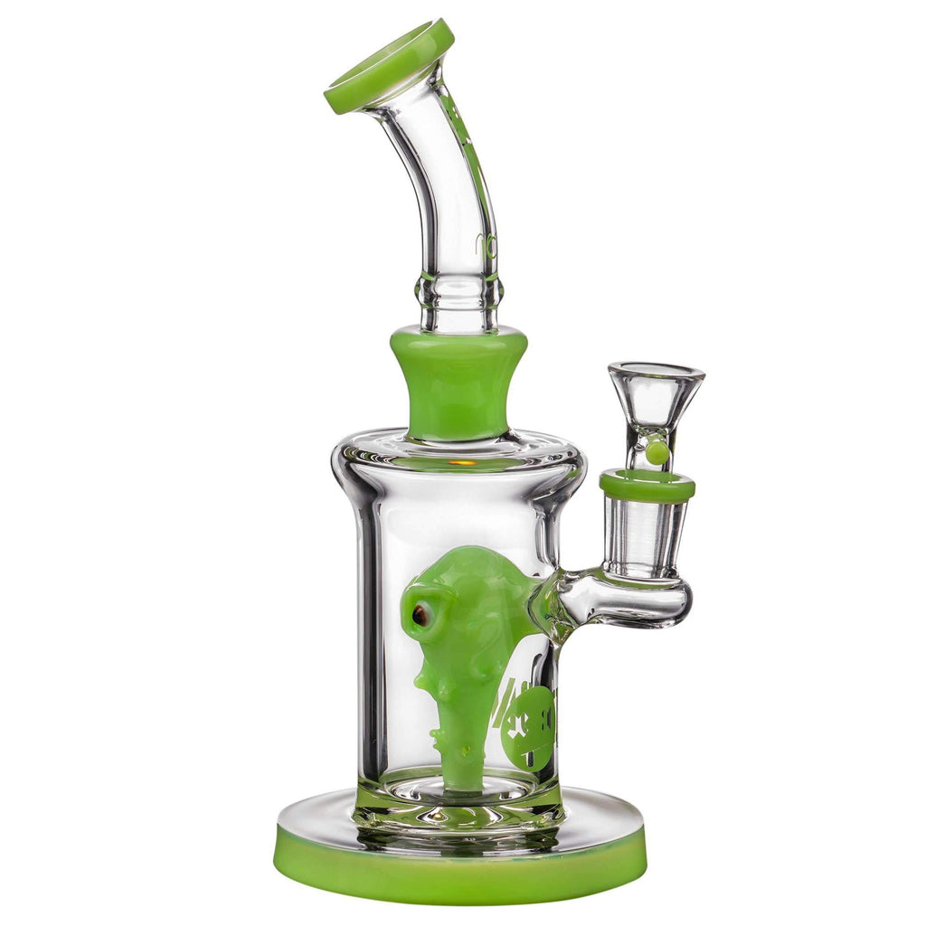 Icon Glass Alien Head Perc Bong | The710Source.com