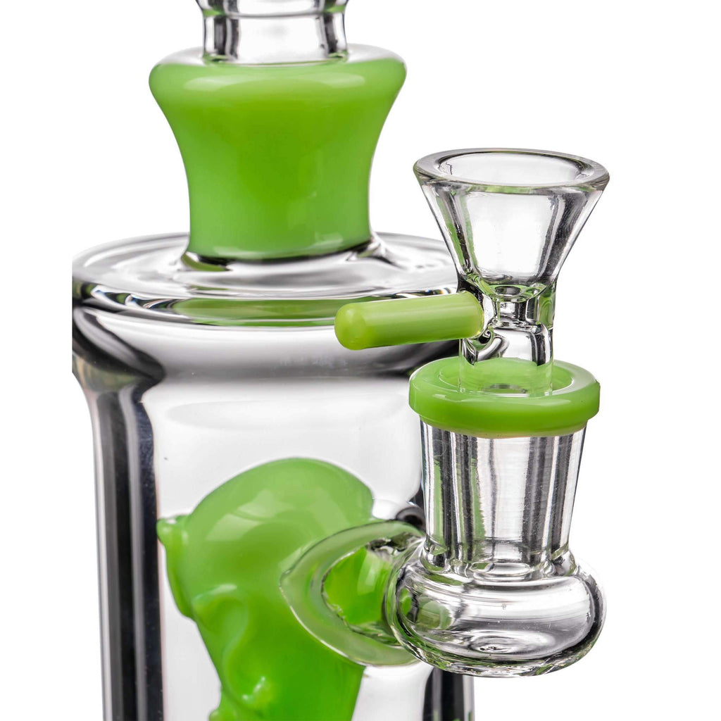 Icon Alien Head Perc Bong Glass Bowl Included | The710Source.com