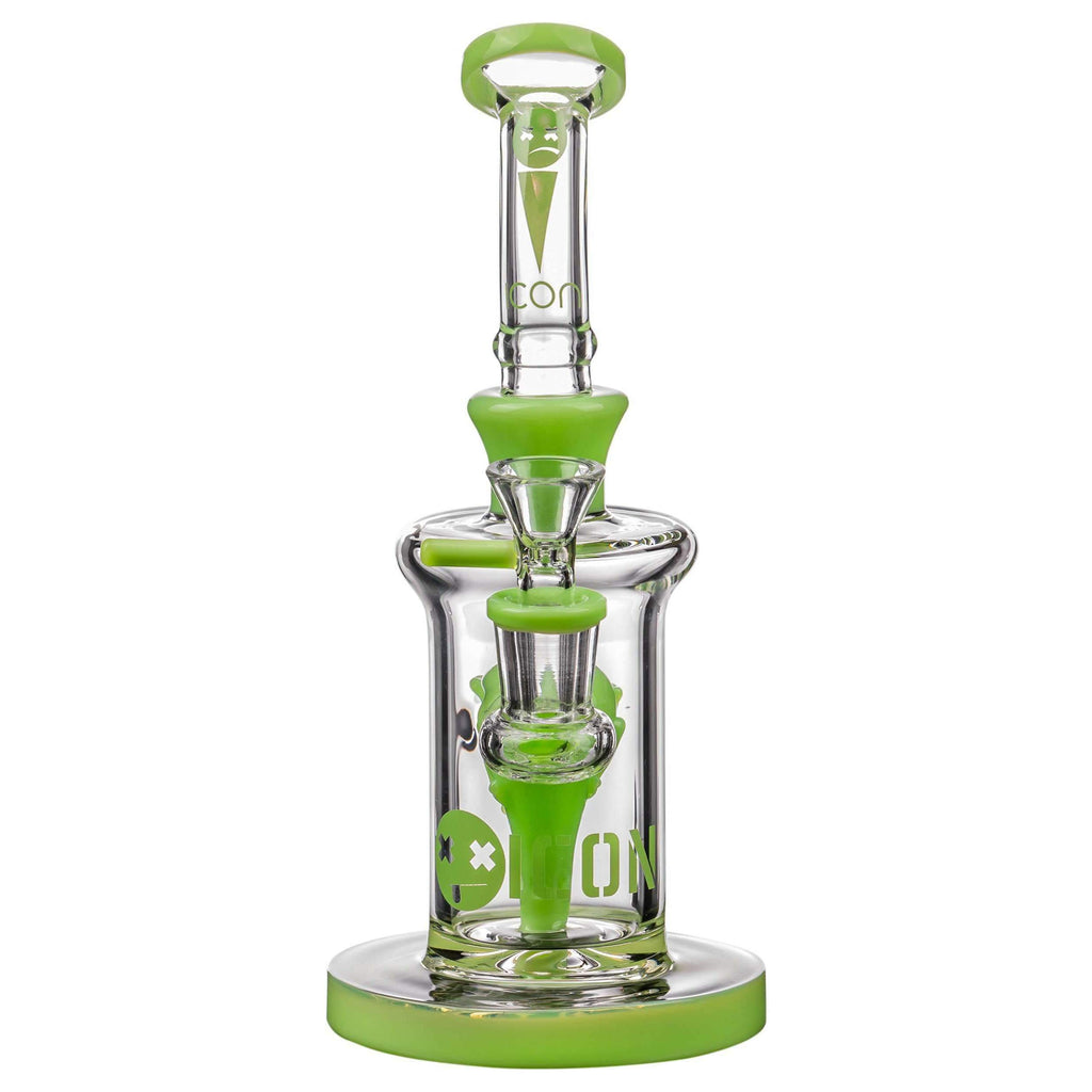 Icon Alien Head Perc Thick Glass Bong | The710Source.com