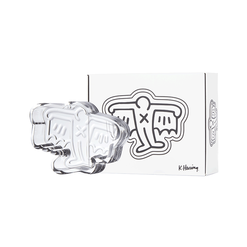 K.Haring Glass Collection BatMan Ashtray | The710Source.com