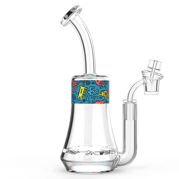 K.Haring Glass Collection Rig - Blue | The710Source.com