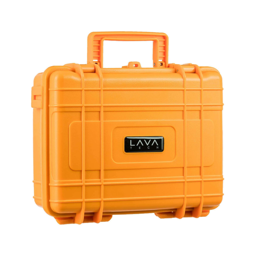"LavaTech ""High Flyer"" Hard Case E-Nail Kit - Orange 
