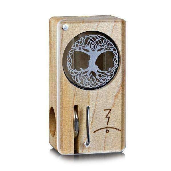 Magic Flight Laser Engraved Launch Box Vaporizer - Celtic Tree | The710Source.com