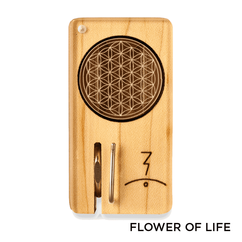 Magic Flight Laser Engraved Launch Box Vaporizer - Flower Of Life | The710Source.com