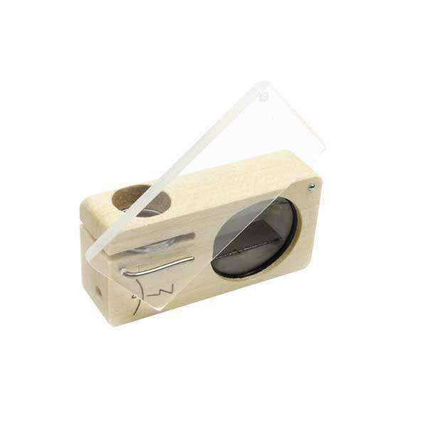 Magic Flight Launch Box Maple Wood Vaporizer | The710Source.com