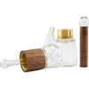 Marley Natural Glass & Walnut Bubbler Pipe | The710Source.com