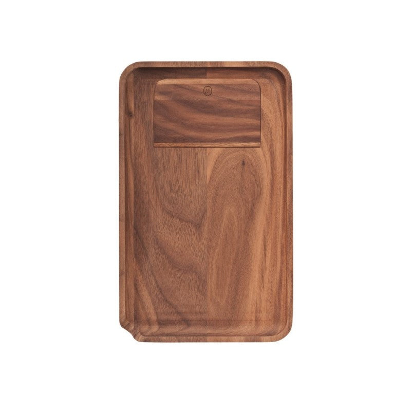 Marley Natural Walnut Joint Rolling Tray - Small | The710Source.com