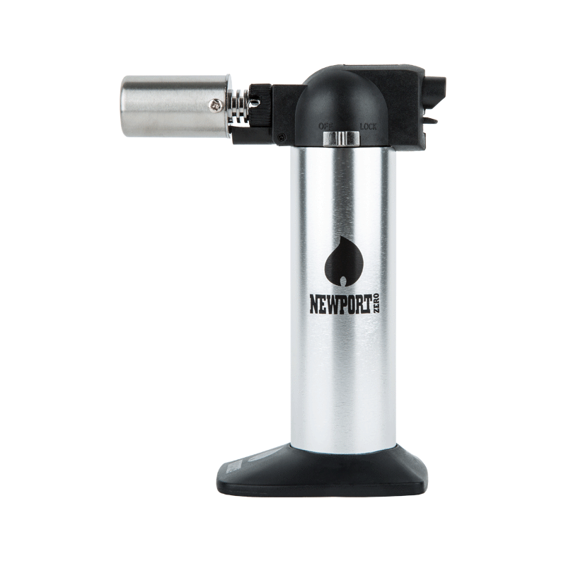 Newport Mini Butane Dab Torch - Silver | The710Source.com