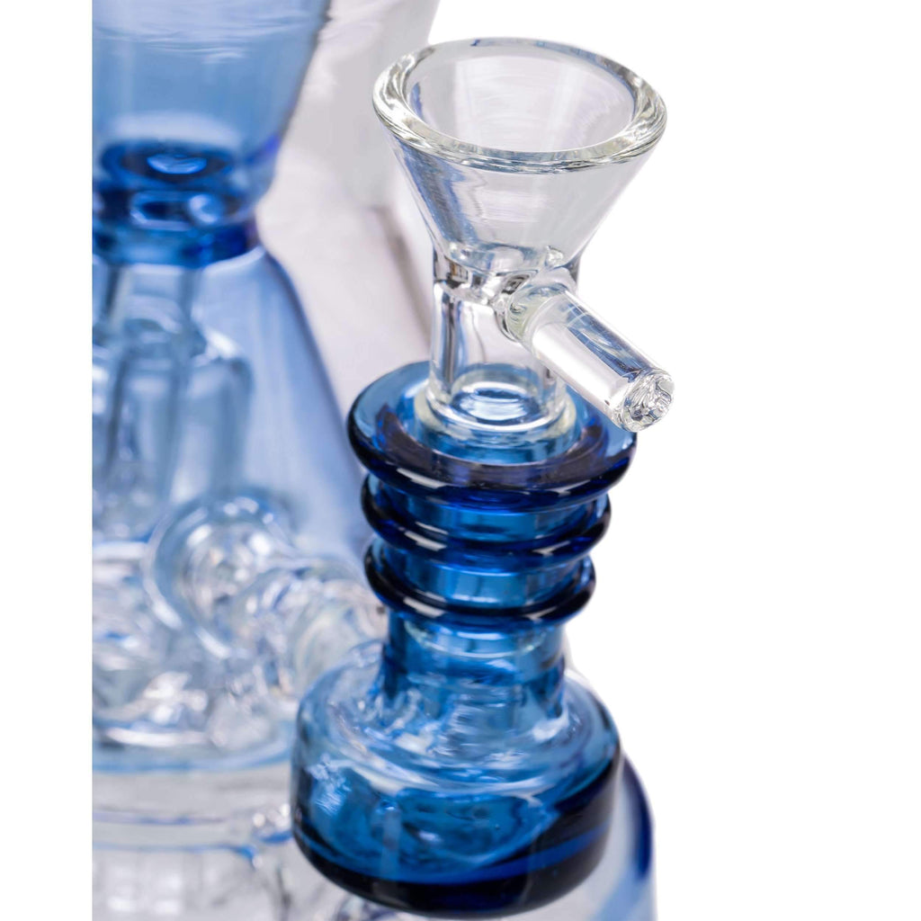 Nucleus Bent Neck Tubular Incycler Bong Glass Bowl Included | The710Source.com