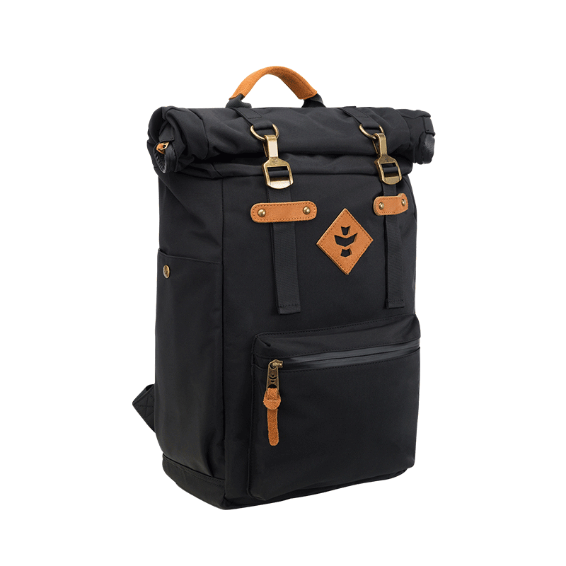 Revelry Drifter Smell Proof Backpack - Black | The710Source.com