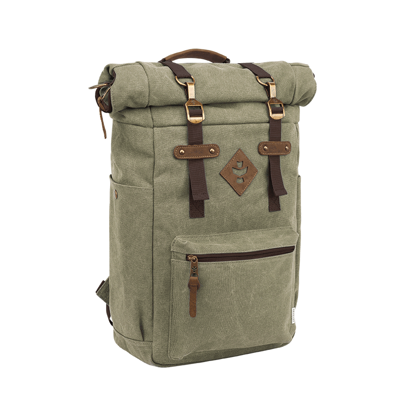 Revelry Drifter Smell Proof Backpack - Sage | The710Source.com