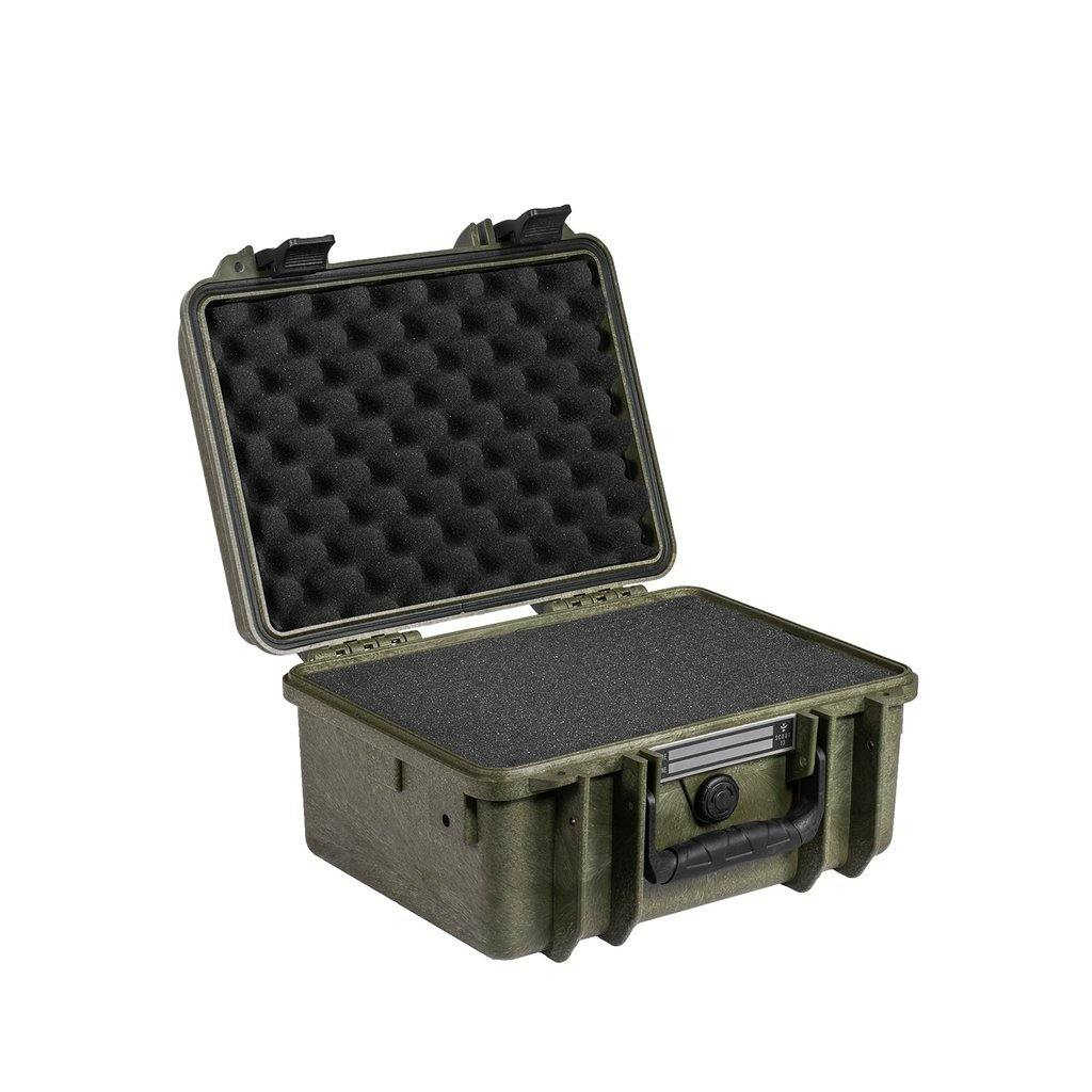 Revelry Supply Scout 13 Smell Proof Hard Case - Green | The710Source.com