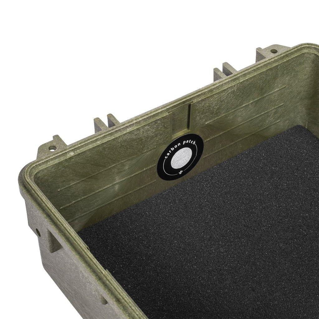 Revelry Supply Scout 13 Hard Case Carbon Filter - Green | The710Source.com