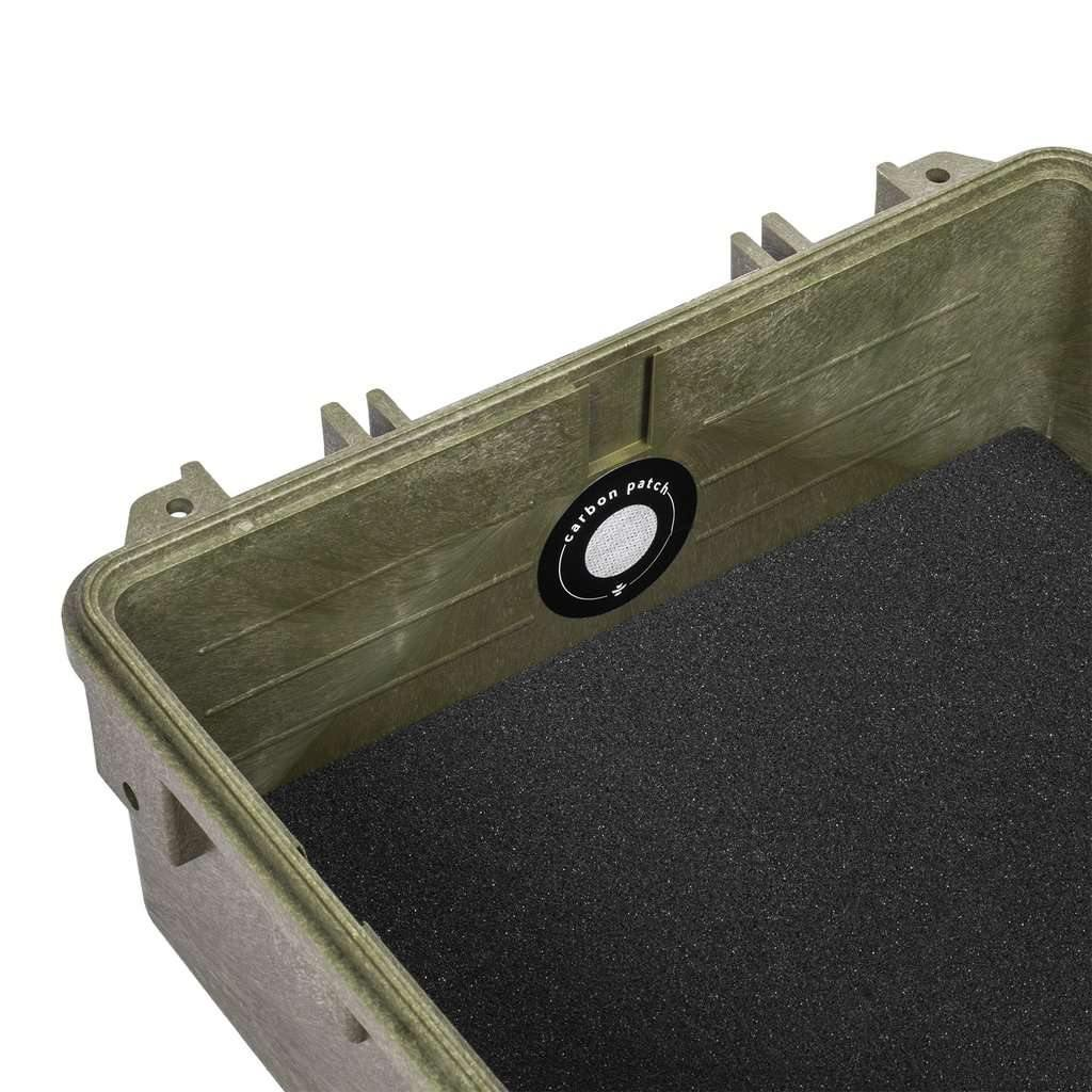 Revelry Supply Scout 9.5 Hard Case Carbon Filter - Green | The710Source.com
