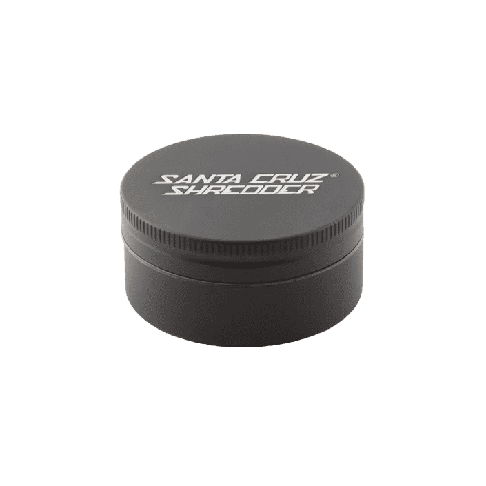 Santa Cruz Shredder 2 Piece Herb Grinder - Black | The710Source.com