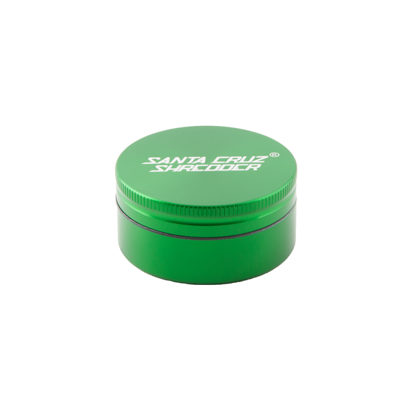 Santa Cruz Shredder Medium 2 Piece Herb Grinder - Green | The710Source.com