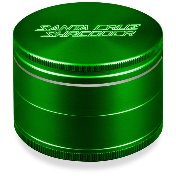 Santa Cruz Shredder Large 4 Piece Grinder - Green | The710Source.com