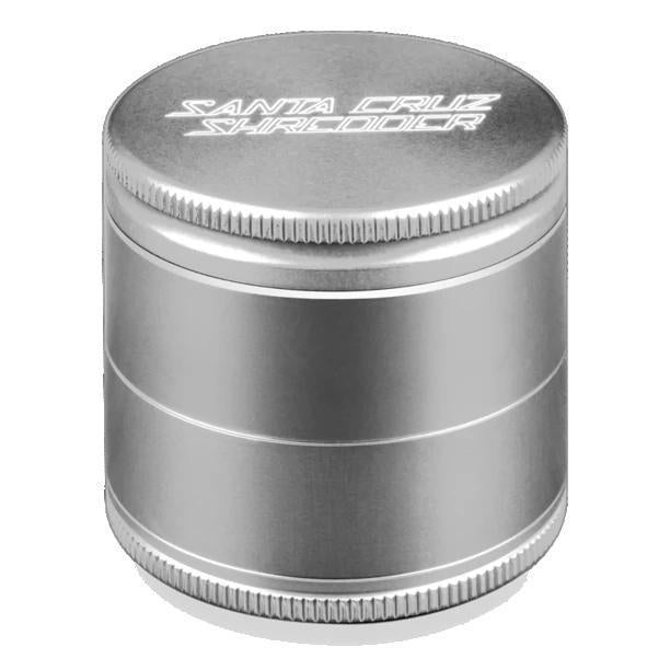 Santa Cruz Shredder Medium Herb Grinder - Silver | The710Source.com