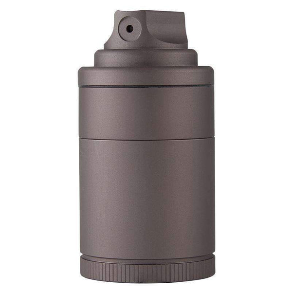 Santa Cruz Shredder Vogue Aluminum Spray Grinder - Grey | The710Source.com