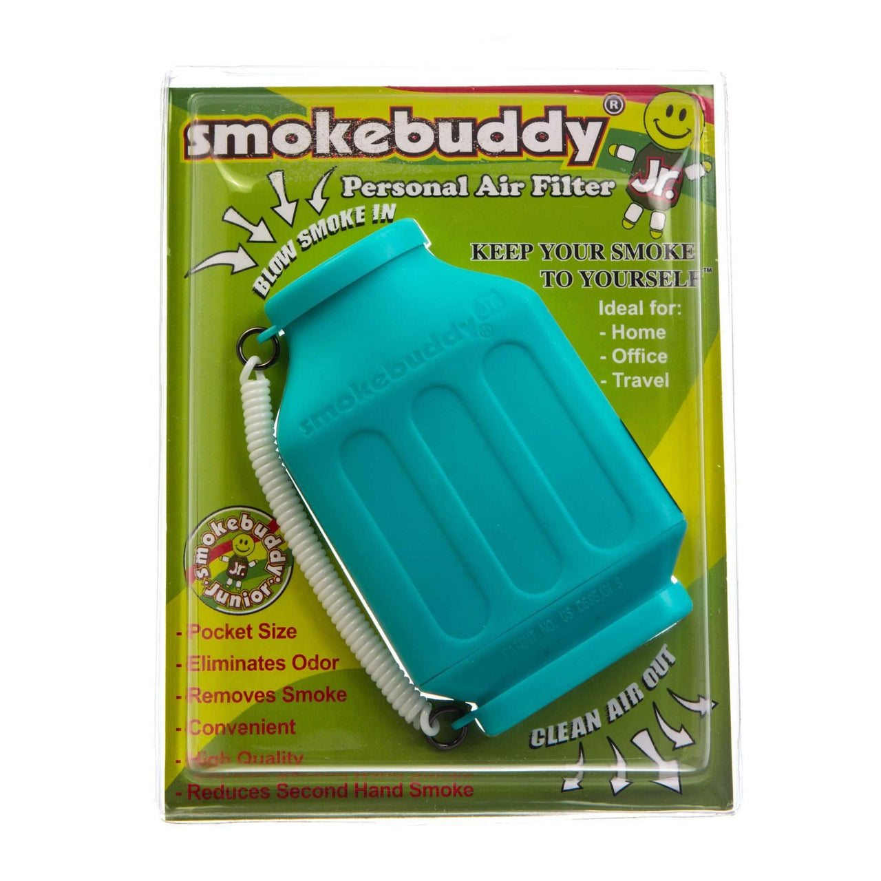 SmokeBuddy Jr. Personal Air Filter - Teal | The710Source.com