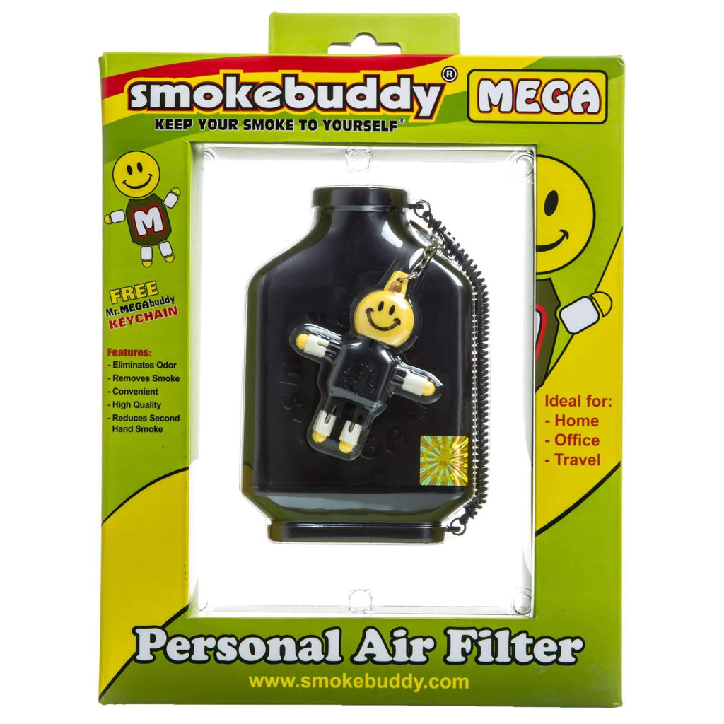Smokebuddy Mega Personal Air Filter - Black | The710Source.com