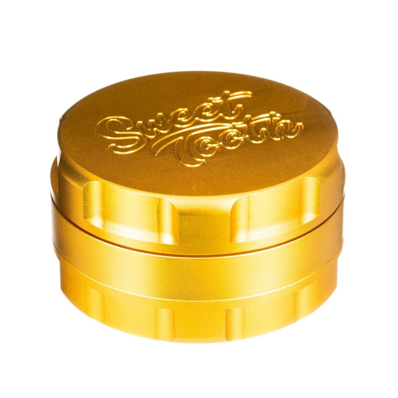Sweet Tooth 3-Piece Large Aluminum Grinder - Gold | The710Source.com
