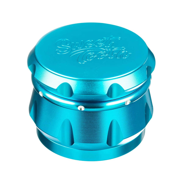 Sweet Tooth 4-Piece Diamond Crest Aluminum Grinder