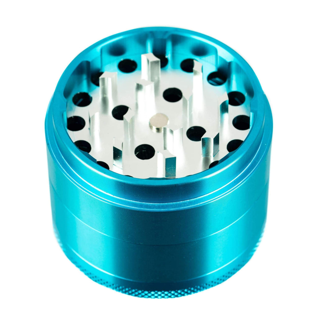 Sweet Tooth 4-Piece Medium Aluminum Herb Grinder | The710Source.com