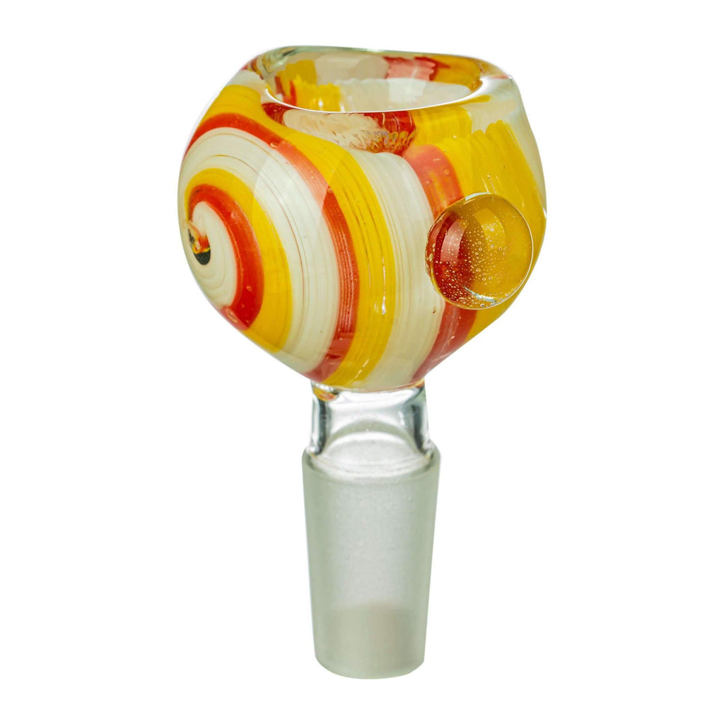 Wig Wag Glass Replacement Bong Bowl - Yellow | The710Source.com