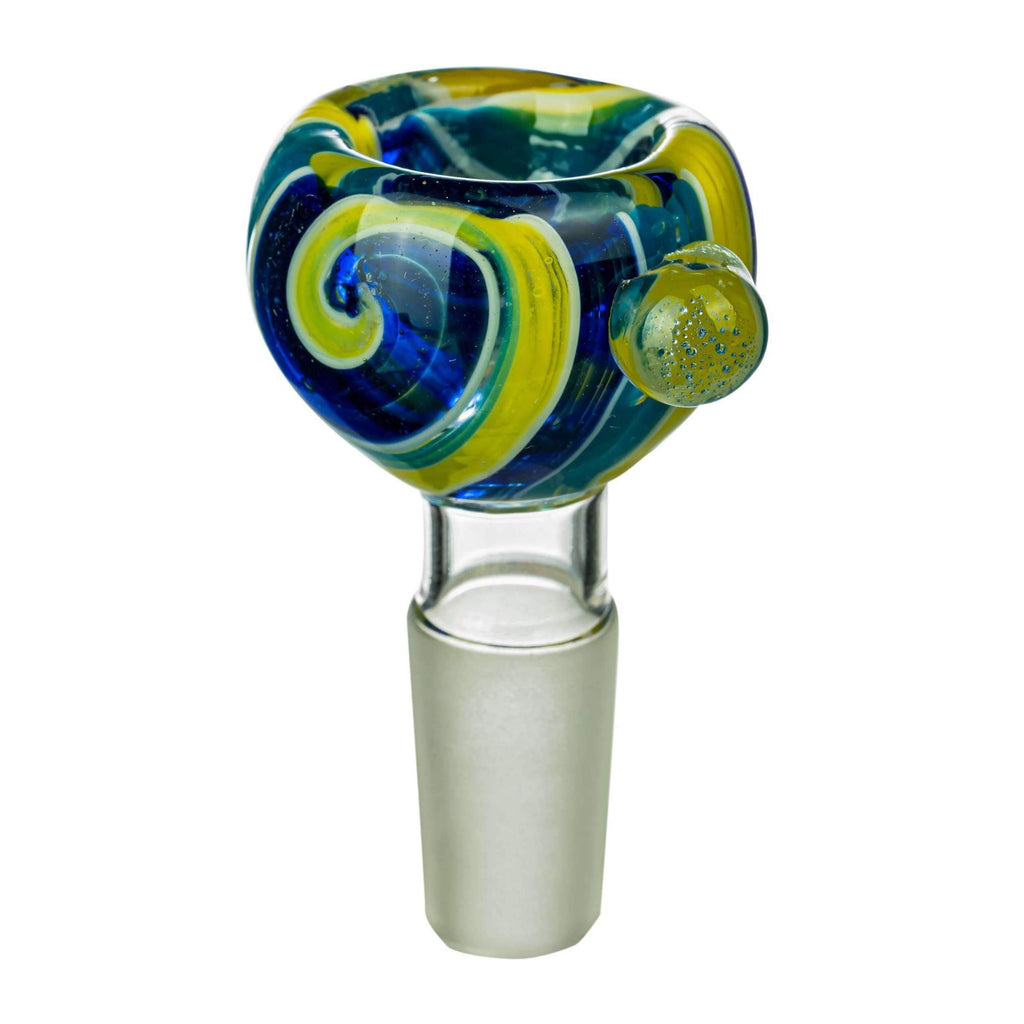 Wig Wag Glass Replacement Bong Bowl - Green | The710Source.com