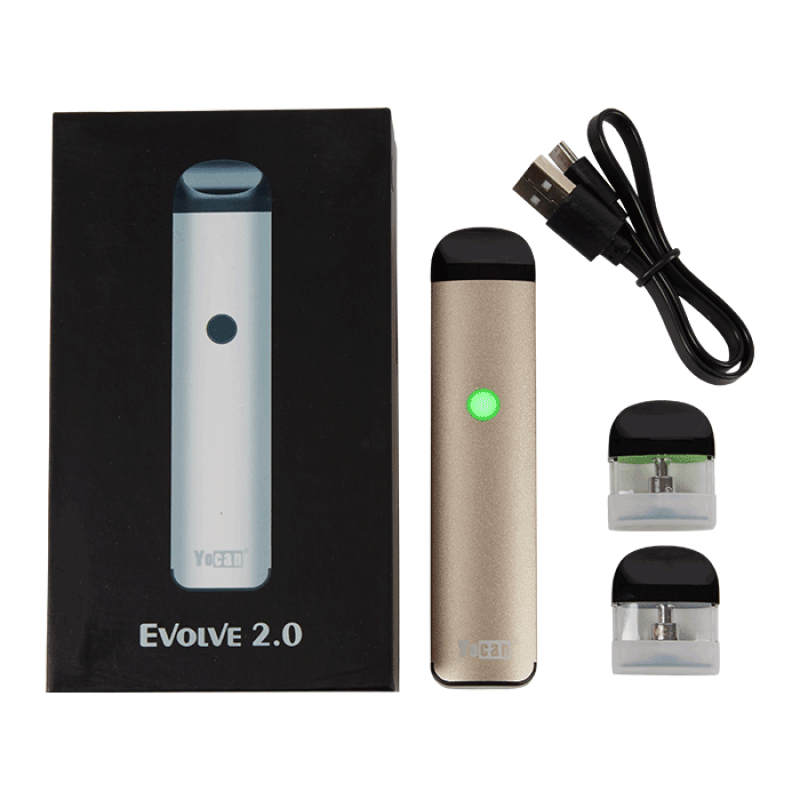 Yocan Evolve 2.0 Vaporizer Kit Contents | The710Source.com