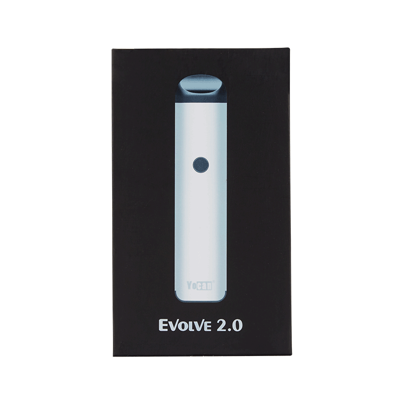 Yocan Evolve 2.0 Vaporizer Package - Front | The710Source.com