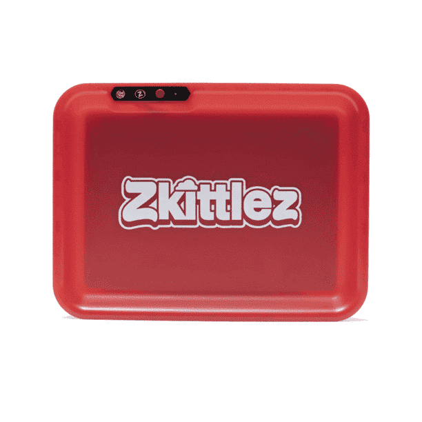 Zkittles Glow Tray - Red | The710Source.com