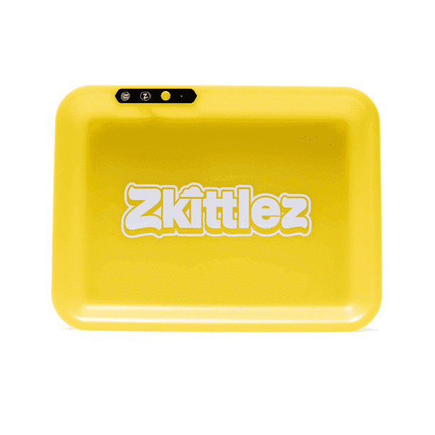 Zkittles Glow Tray - Yellow | The710Source.com