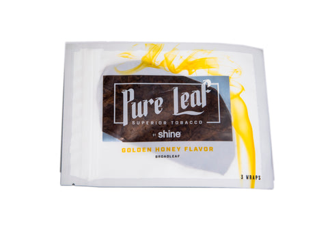 Pure Leaf Wraps - Golden Honey
