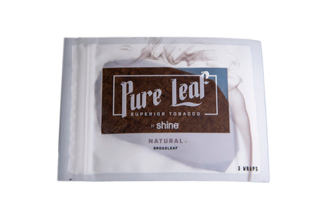 Pure Leaf Wraps - Natural