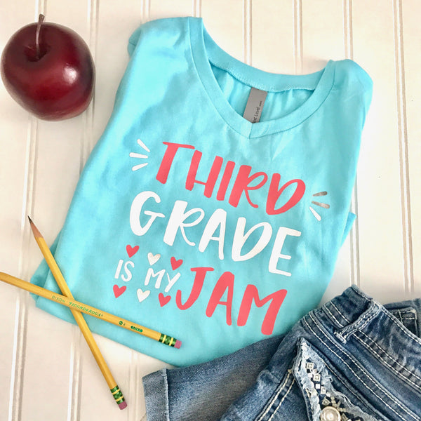 Teacher Shirt, Back to School Shirt, 3rd Grade, Third Grade Shirt, School Shirt, Kids Shirt, Custom Shirt, First Day Of School