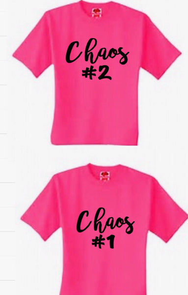 Chaos Coordinator Shirt Set Stay At Home Mom Mom Gift Boss Gift