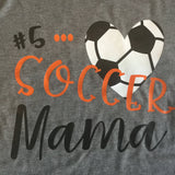 Soccer Mom Shirt, soccer coach gift, Proud Mom Shirt, Mom soccer Shirt, Soccer Gift, Custom Shirt, Vinyl Shirt, Team Mom gift, coach gift