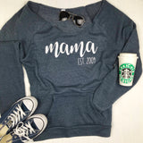 Mama Established Sweatshirt, Cute Mom Sweatshirt, New Mom Gift, Mothers Day Gift, New Mom Shirt, Gift for Mom, Mom Christmas Gift