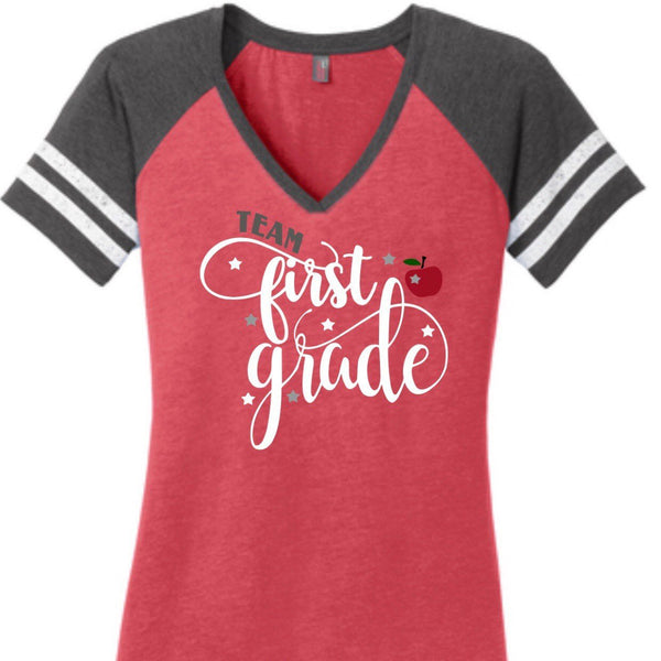 Team First Grade Shirt, Teacher Shirts, Back to School Shirt, Kindergarten Shirt, First Grade Shirt, 1st Grade Teacher Shirt, Teacher Tshirt